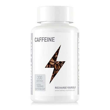 Battery Nutrition Caffeine (200 капсули)