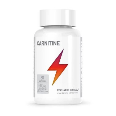 Battery Nutrition Carnitine 500 (60 капсули)