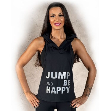 Excess Спортен потник с качулка Jump (Excess Training Top)